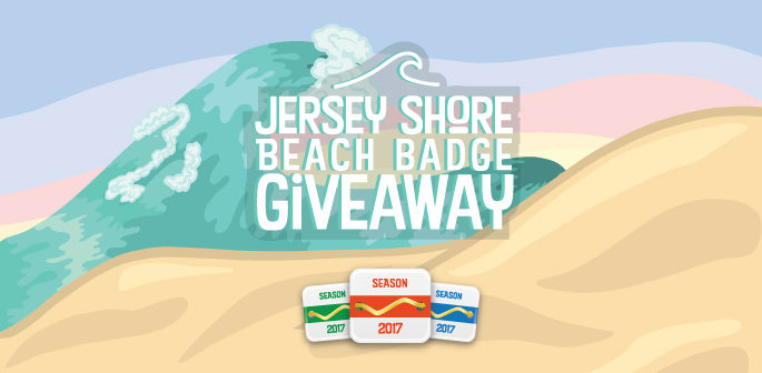 Jersey Shore Beach Badge Giveaway (Valued at $2000)
