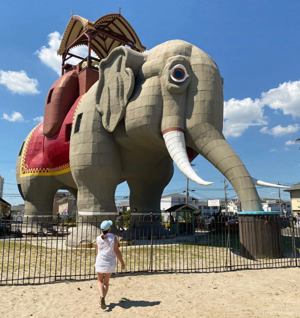 fun things to do in NJ, new jersey lucy the elephant margate city