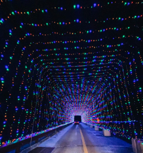 Drive through Christmas lights in nj